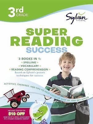 Third Grade Super Reading Success (Sylvan Super Workbooks) (Language Arts Super