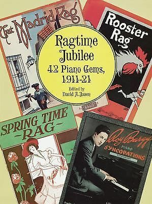 Ragtime Jubilee: 42 Piano Gems, 1911-21 (Dover Music for Piano) by