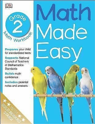 Math Made Easy: Second Grade Workbook (Math Made Easy) by DK Publishing