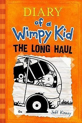 Diary of a Wimpy Kid: The Long Haul, Kinney, Jeff, Good Condition, Book