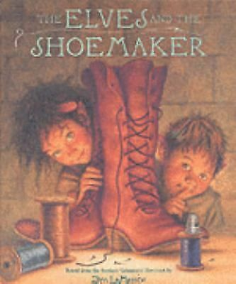 The Elves and the Shoemaker by Jacob Grimm, Jim Lamarche