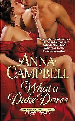 What a Duke Dares (Sons of Sin) by Campbell, Anna