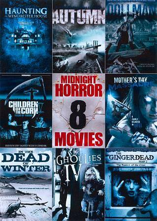 8 Film Midnight Horror Collection 11,