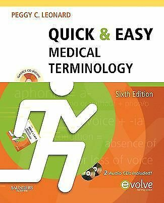 Quick & Easy Medical Terminology, 6e Quick & Easy Medical Terminology W/CD))