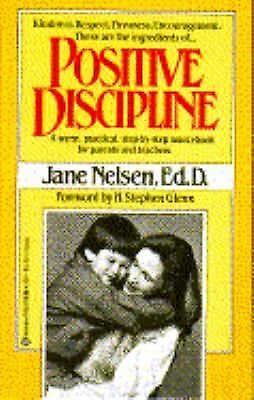 Positive Discipline, Jane Nelsen, Good Condition, Book