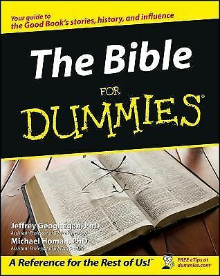The Bible For Dummies by Geoghegan, Jeffrey, Homan, Michael