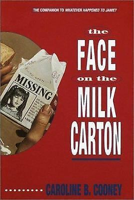 The Face on the Milk Carton, Caroline B. Cooney, Good Condition, Book