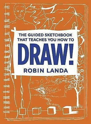 The Guided Sketchbook That Teaches You How To DRAW! by