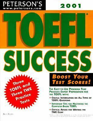 Peterson's Toefl Success 2001 by Rogers, Bruce