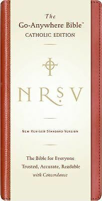 NRSV Go-Anywhere Bible CE (Red) by Harper Bibles