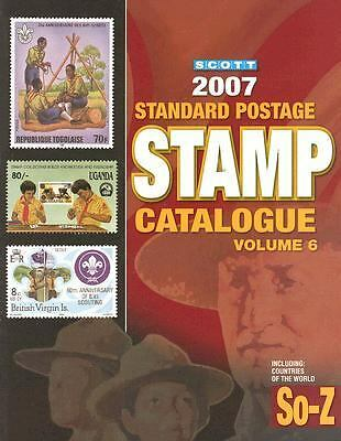 Scott 2007 Standard Postage Stamp Catalogue: Countries of the World So-z (Scott