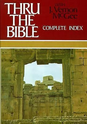 Thru the Bible, Vol. 6: Complete Index, McGee, J. Vernon