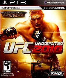 UFC Undisputed 2010 - Playstation 3 by