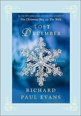 Lost December: A Novel, Evans, Richard Paul, Good Condition, Book