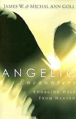 Angelic Encounters, James W. Goll, Michal Ann Goll, Good Condition, Book