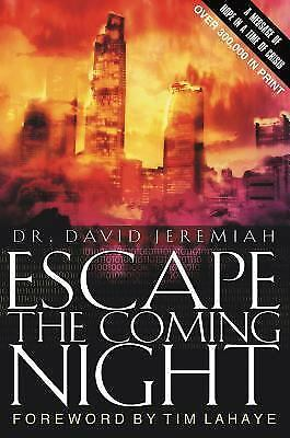 Escape the Coming Night, Dr. David Jeremiah, David Jeremiah, Good Condition, Boo