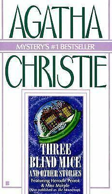 Three Blind Mice and Other Stories, Christie, Agatha, Good Book