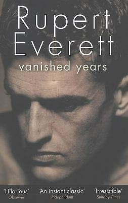 Vanished Years, Everett, Rupert, Good Condition, Book