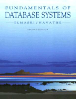 Fundamentals of Database Systems, Navathe, Shamkant B., Elmasri, Ramez, Good Con