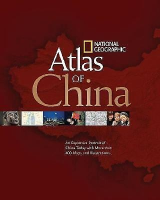 National Geographic Atlas of China, National Geographic, Good Condition, Book