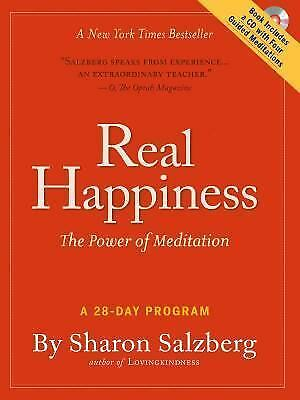 Real Happiness: The Power of Meditation: A 28-Day Program, Salzberg, Sharon, Goo