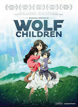 Wolf Children (DVD, 2013, 2-Disc Set)