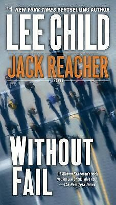 Without Fail (Jack Reacher, No. 6), Lee Child, Good Condition, Book