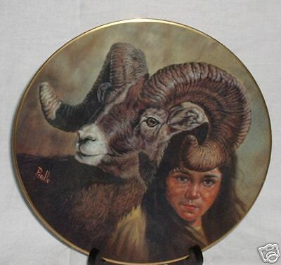 Perillo NATURE GIRL Gregory Perillo The Companion Series Collector Plate