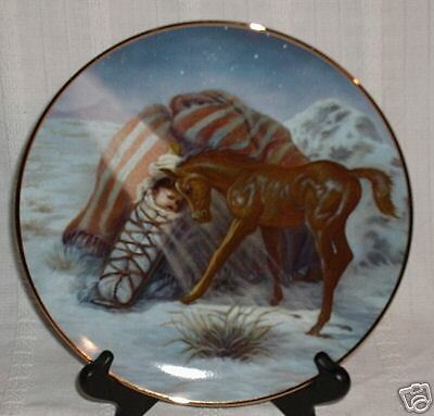 Perillo SILENT LIGHT 1988 Gergory Perillo Christmas Collector Plate NIB
