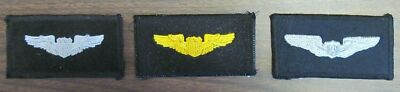Military Wings USA Made Patches  by All Star Warbirds Custom Embroidery