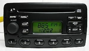 00 01 02 03 04 Ford COUGAR FOCUS 4600 AM/FM Radio  CD #1S4F-18C838-BA