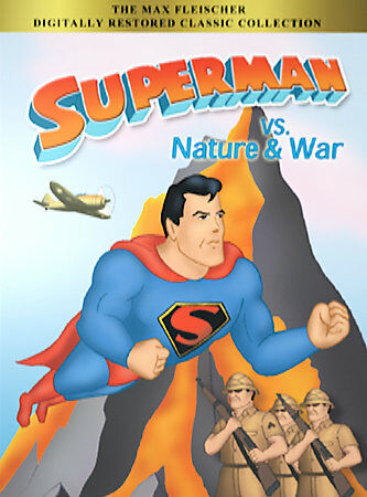 Superman vs. Nature & War  DVD LIKE NEW FREE USA SHIPPING