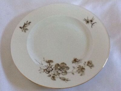 Twilight Rose  ~ Bread & Butter  Plate ~Johann Haviland ~ Bavaria ~ Germany