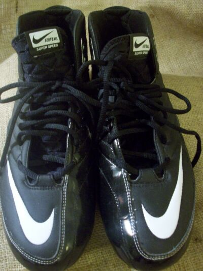 Nike Super Speed D 3/4 Football Cleats Shoes size 14 396253--011 Get Fast MINT