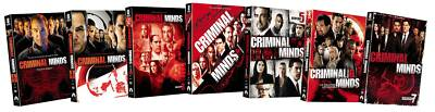 Criminal Minds: Seasons 1-7 (DVD, 2012, 42-Disc Set)