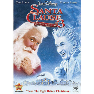 The Santa Clause 3: The Escape Clause (DVD, 2007)