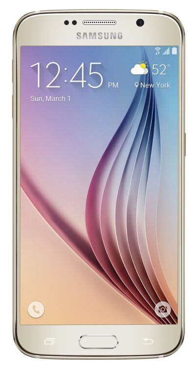 Samsung Galaxy S6 SPH-920P (Latest Model) - 128GB - Gold Platinum Bad ESN