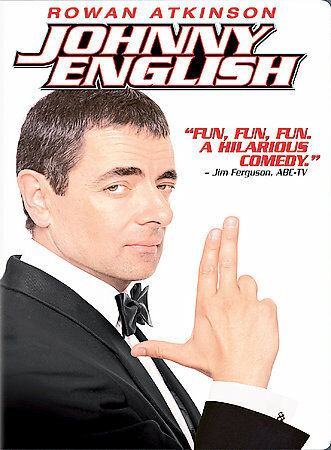 Johnny English (DVD, 2004, Widescreen Edition)