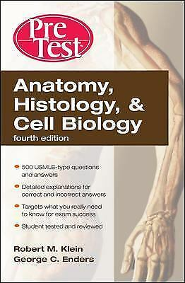 PreTest Basic Science Ser.: Anatomy, Histology, and Cell Biology