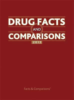 Drug Facts and Comparisons 2013 (Drug Facts & Comparisons): Facts & Comparisons