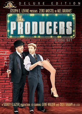 The Producers (DVD, 2005, 2-Disc Set, Deluxe Version)