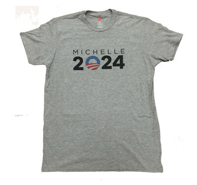 Michelle Obama For  President 2024 Democratic Party TShirt Make it Happen