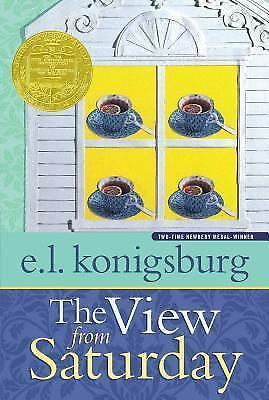The View from Saturday by E. L. Konigsburg '98 PB  NEWBERRY MEDAL WINNING AUTHOR