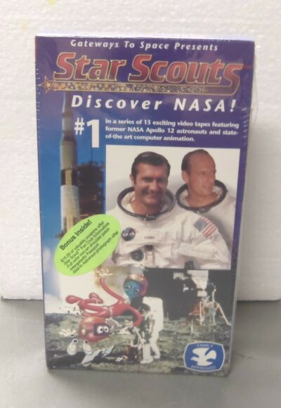 Gateway To Space Presents... Star Scouts Discover NASA #1 VHS Tape (NOS)