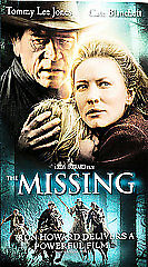 The Missing (VHS  2004) Cate Blanchett, Tommy Lee Jones