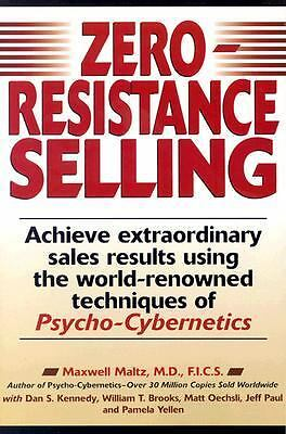 Zero Resistance Selling, Maxwell Maltz, Good Book