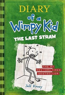 Diary of a Wimpy Kid: The Last Straw, Jeff Kinney, Very Good Book