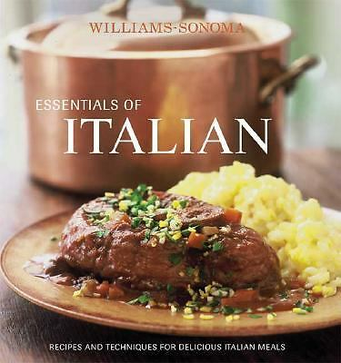 Williams-Sonoma Essentials of Italian by Scicolone, Michele