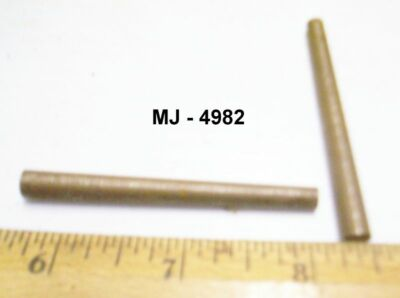 Lot of 2 - Tapered Metal Pins (NOS)