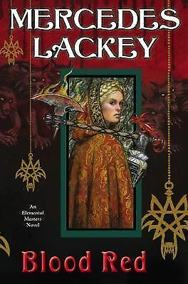 Blood Red (Elemental Masters), Lackey, Mercedes, Good Book